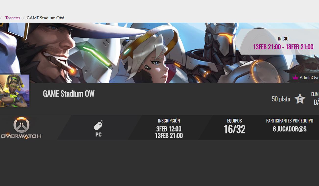 Primer Torneo de nuestro Equipo de Overwatch