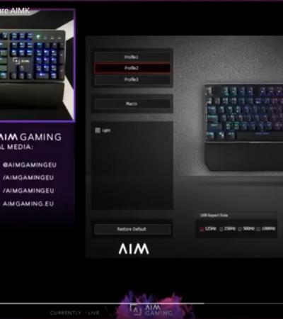 Cambia tu iluminación con el software AIMK