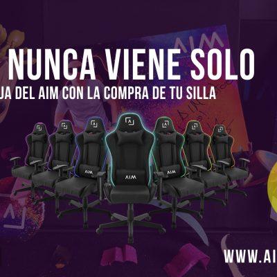 ¡20% de descuento exclusivo para la silla AIM y premios limitados especiales!
